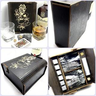 Подарочный набор для виски «Пиковая дама» на 2 персоны Минск +375447651009