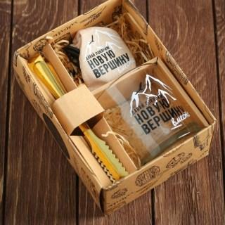 Подарочный набор для виски «Покорим новую вершину» купить в Минске +3754478651009