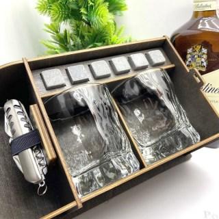 Подарочный набор для виски «Лучший дедушка» с мультитулом Минск +375447651009