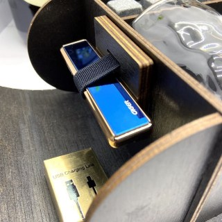 Подарочный набор для виски «Лучший брат» с зажигалкой от USB Минск +375447651009