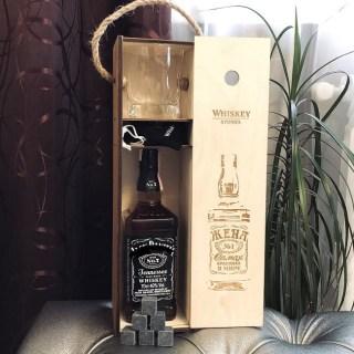 Подарочный набор для виски «Жена №1» со стаканом и камнями Минск +375447651009