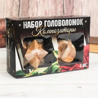 Подарочный набор головоломок «Композиторы» 2 шт. купить в Минске +375447651009