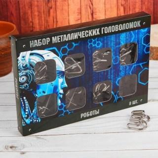 Подарочный набор головоломок «Роботы» 8 шт. купить в Минске +375447651009