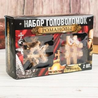Подарочный набор головоломок «Романовы» 2 шт. купить в Минске +375447651009