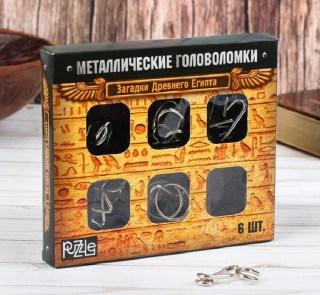 Подарочный набор головоломок «Загадки Египта» 6 шт. Минск +375447651009