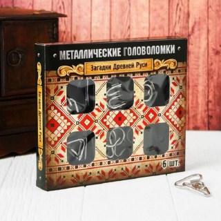 Подарочный набор головоломок «Загадки Руси» 6 шт. Минск +375447651009