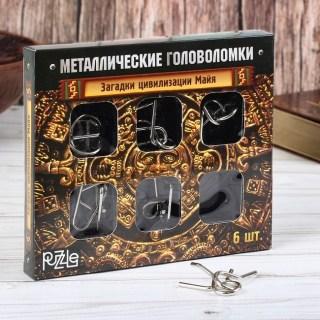 Подарочный набор головоломок «Загадки цивилизации Майя» 6 шт. Минск +375447651009