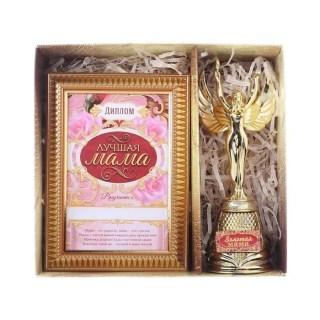 Подарочный набор «Лучшая мама»: награда Ника, диплом купить в Минске +375447651009