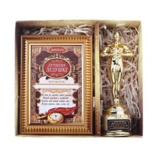 Подарочный набор «Лучший дедушка»: награда Ника, диплом купить в Минске +375447651009