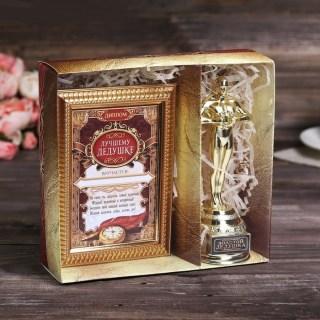 Подарочный набор «Лучший дедушка»: награда Оскар, диплом купить в Минске +375447651009