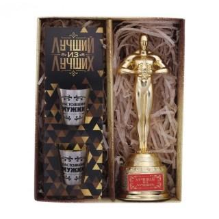Подарочный набор «Лучший из лучших» Оскар и брелок купить в Минске +375447651009