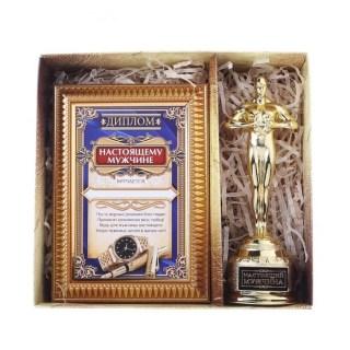 Подарочный набор «Настоящий мужчина» Оскар и брелок купить в Минске +375447651009