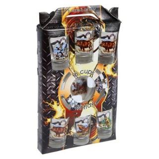 Подарочный набор 'Охота': рюмки, пепельница купить в Минске +375447651009