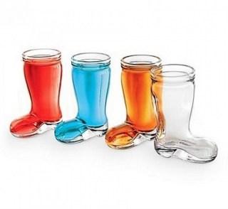 Подарочный набор рюмок «Сапоги» 4 шт. купить в Минске +375447651009
