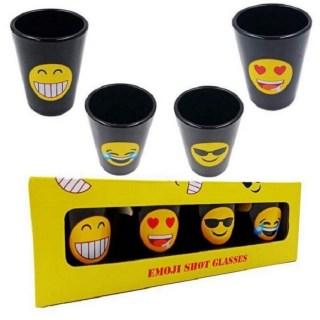 Подарочный набор рюмок «Смайлики» 4 шт. купить в Минске +375447651009