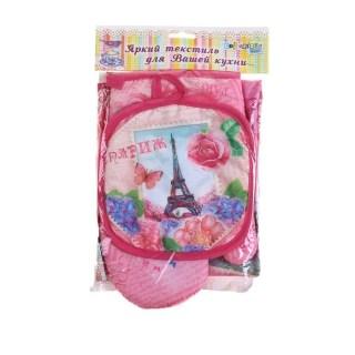 Подарочный набор с фартуком 3 в 1 «Париж» купить в Минске +375447651009
