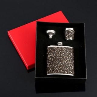 Подарочный набор с фляжкой 210 мл. «Узоры» купить в Минске +375447651009