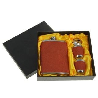 Подарочный набор с фляжкой 240 мл. «Статус» купить в Минске +375447651009