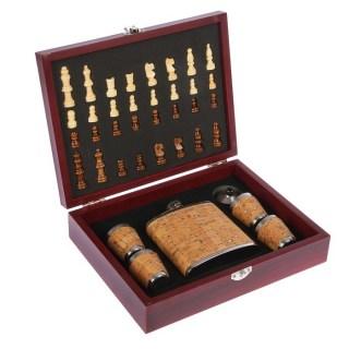 Подарочный набор с фляжкой «Chess» в шкатулке купить в Минске +375447651009