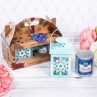 Подарочный набор со свечей «Новогоднее настроение» купить в Минске +375447651009