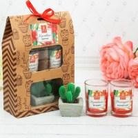 Подарочный набор свечей «Клубничное наслаждение» купить в Минске +375447651009