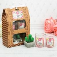 Подарочный набор свечей «Лето» купить в Минске +375447651009