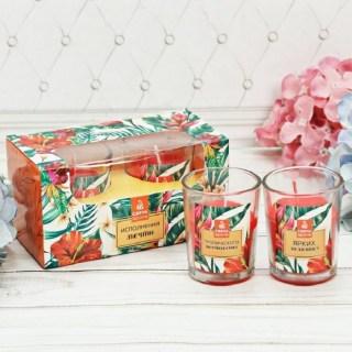 Подарочный набор свечей «Мечты» тропик купить в Минске +375447651009