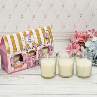 Подарочный набор свечей «Утро в Париже» свежесть купить в Минске +375447651009