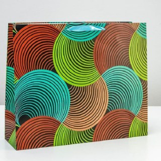 Подарочный пакет «Акварель» 50 × 40 × 15 см купить Минск +375447651009