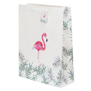 Подарочный пакет «Фламинго» 32 × 42 × 11 см купить Минск +375447651009