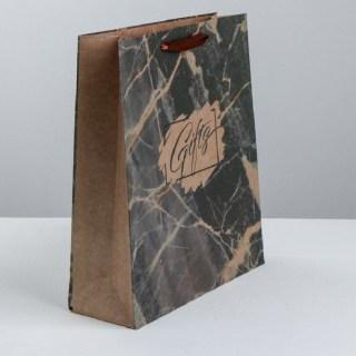 Подарочный пакет «Gifts» 23× 27× 11.5 см Минск +375447651009