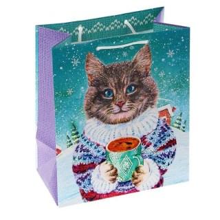 Подарочный пакет «Кот и кофе» купить в Минске +375447651009
