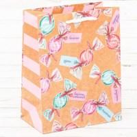 Подарочный пакет «Леденцы» 18 × 23 × 10 см купить Минск +375447651009