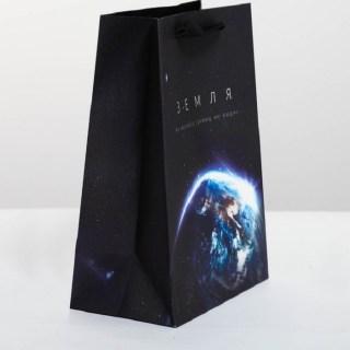 Подарочный пакет «Планета Земля» 18 х 23 × 10 см купить в Минске +375447651009