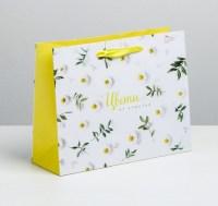 Подарочный пакет «Ромашки» 40 × 31 × 9 см Минск +375447651009