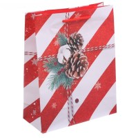 Подарочный пакет «С поздравлениями» 18 × 23 × 8 см Минск +375447651009
