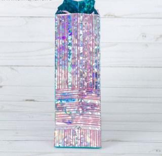 Подарочный пакет «Цветной пэчворк» купить в Минске +375447651009