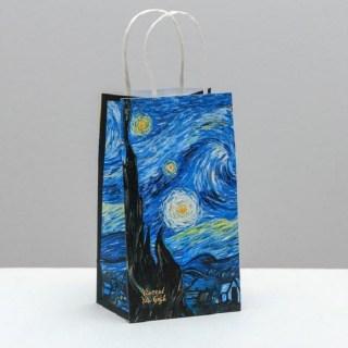 Подарочный пакет «Ван Гог» 12 х 21 × 9 см купить в Минске +375447651009
