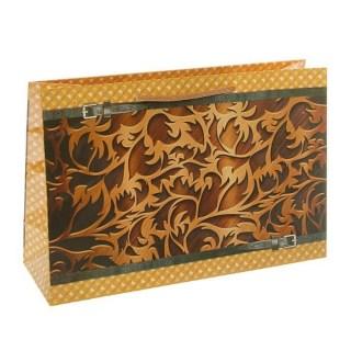 Подарочный пакет «Витраж» горизонтальный купить в Минске +375447651009