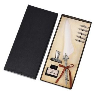 Подарочный письменный набор с пером «Винтаж» микс купить в Минске +375447651009