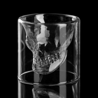 Подарочный стакан «Череп» 70 мл купить Минск +375447651009