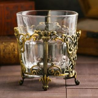 Подстаканник подарочный «Лучшая теща» со стаканом купить в Минске +375447651009