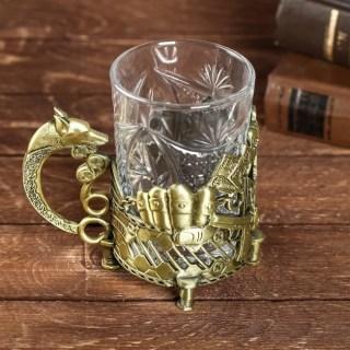 Подстаканник со стаканом «Большому боссу» купить в Минске +375447651009
