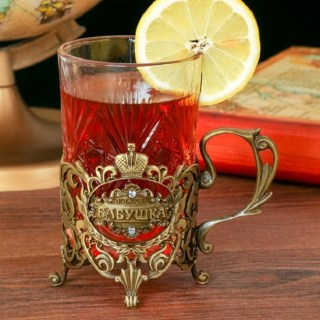 Подстаканник со стаканом «Любимая бабушка» купить в Минске +375447651009