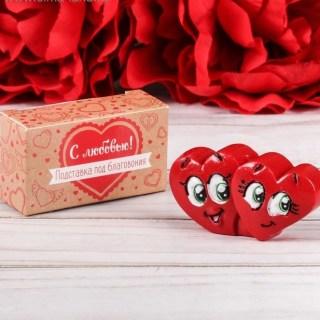 Подставка для благовоний «Два сердца» купить в Минске +375447651009