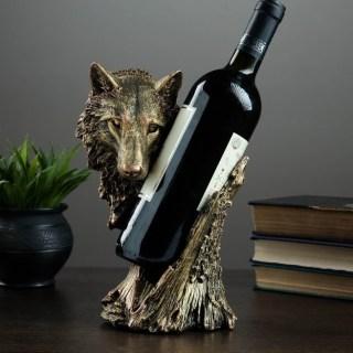 Подставка для бутылки «Волк» купить в Минске +375447651009