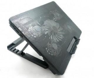 Подставка для ноутбука с подсветкой и охлаждением М8 купить в Минске +375447651009