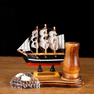 Подставка для ручек «Трехмачтовый корабль» микс купить в Минске +375447651009