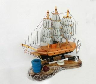 Подставка для ручки с парусником «Корабль удачи» купить Минск