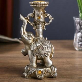 Подсвечник декоративный «Слон Мудрости» купить в Минске +375447651009